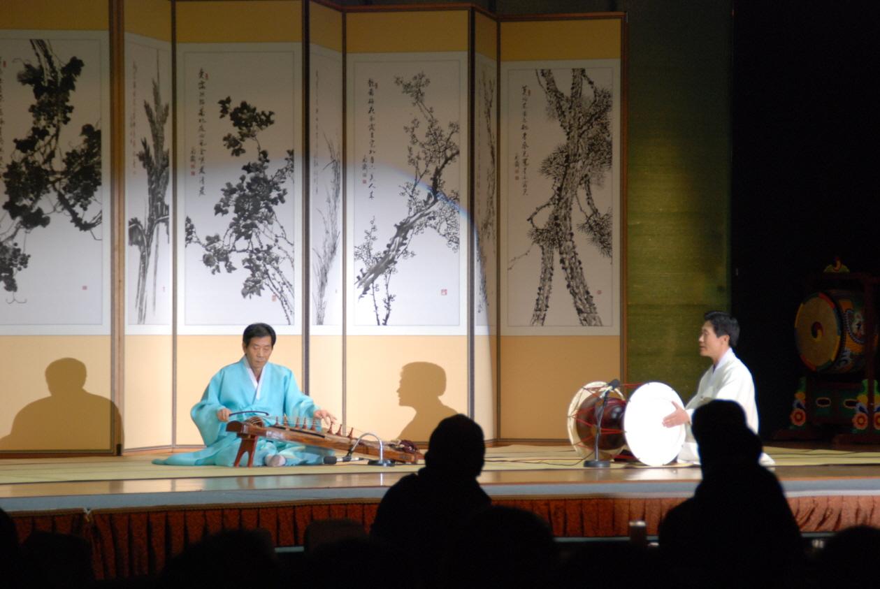 『전통과 현대 국악의 만남 - 국악의 멋』공연 中