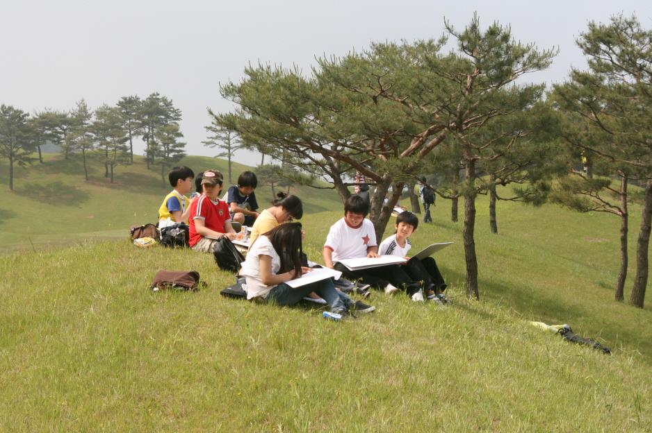 어린이 사생대회 사진1